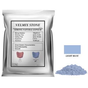 Yeso Velmix® Stone Tipo IV Color Celeste