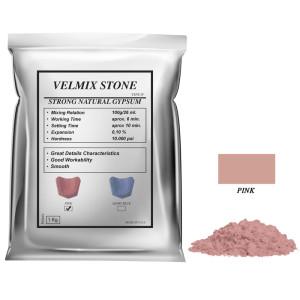 Yeso Velmix® Stone Tipo IV Color Rosado